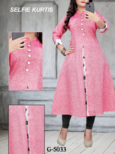Load image into Gallery viewer, Stylish Khadi Cotton Kurti