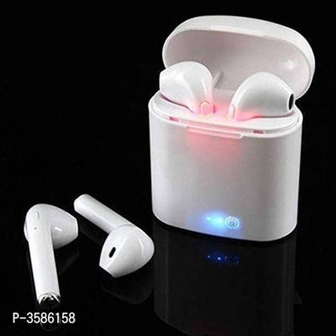 Elegant White I7s TWS Mini Twin Portable In-ear Bluetooth Wireless Headphone