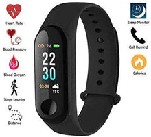 Load image into Gallery viewer, NAVYA M3 Smart Band Fitness Activity Tracker (Black)
