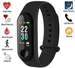 NAVYA M3 Smart Band Fitness Activity Tracker (Black)