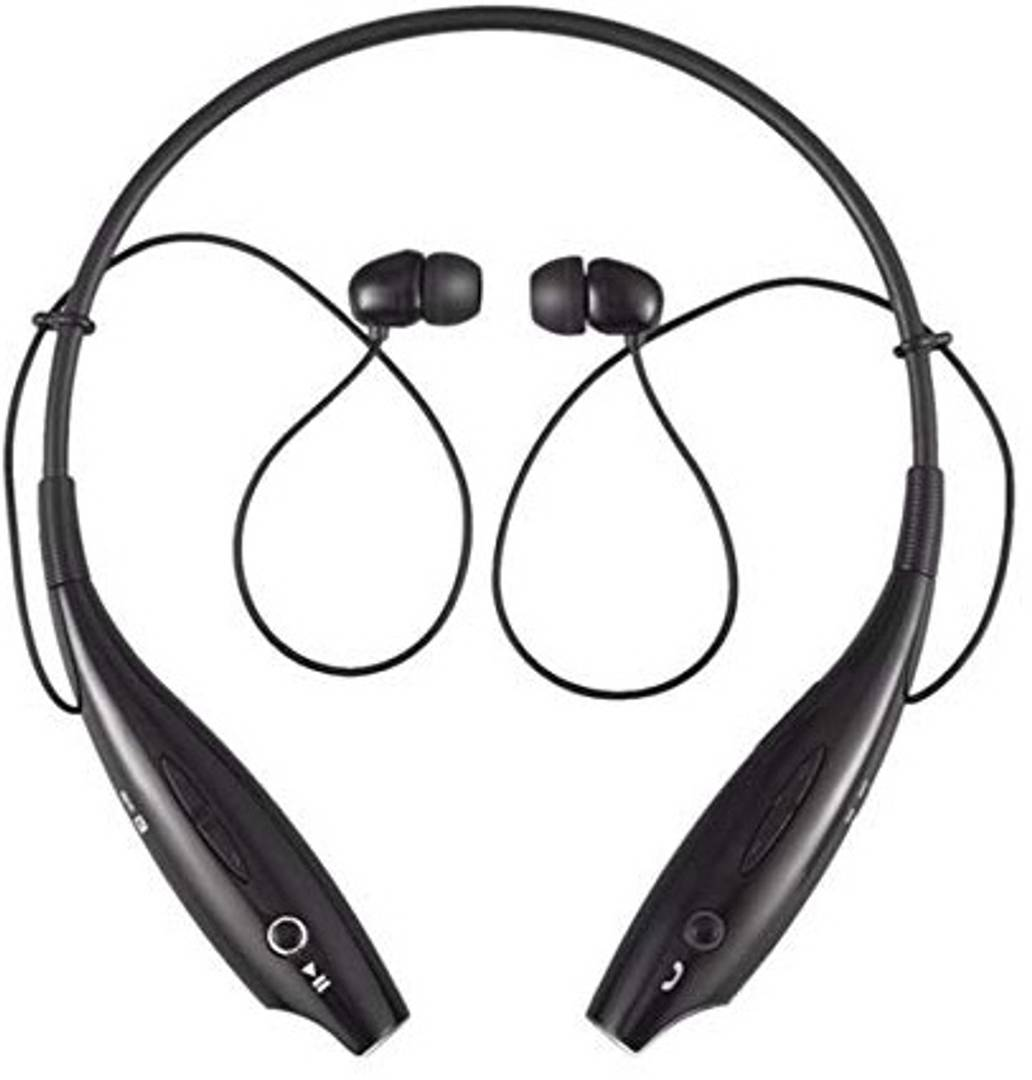 Hbs 730 Wireless Bluetooth Stereo Headset With Call Functions (Black)