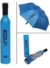 Load image into Gallery viewer, POCKET FOLDING WINE BOTTLE UMBRELLA
