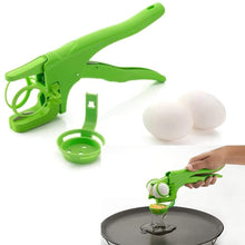 Load image into Gallery viewer, Kitchen Handheld Eazy Egg Cracker Egg Breaker - Maple Things