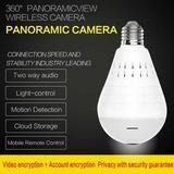 PANORAMIC CAMERA LIGHT BULB (WIFI WIRELESS SMART SPY BULB) - Maple Things