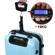 Load image into Gallery viewer, 548 Black Digital Portable Luggage Scale with LCD Backlight (50 kg)