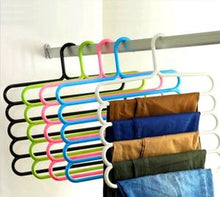 Load image into Gallery viewer, Multi-Layer 5-in-1 Plastic Hanger (Closet Organizer) - Maple Things