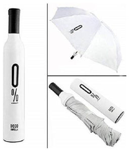 POCKET FOLDING WINE BOTTLE UMBRELLA - Maple Things