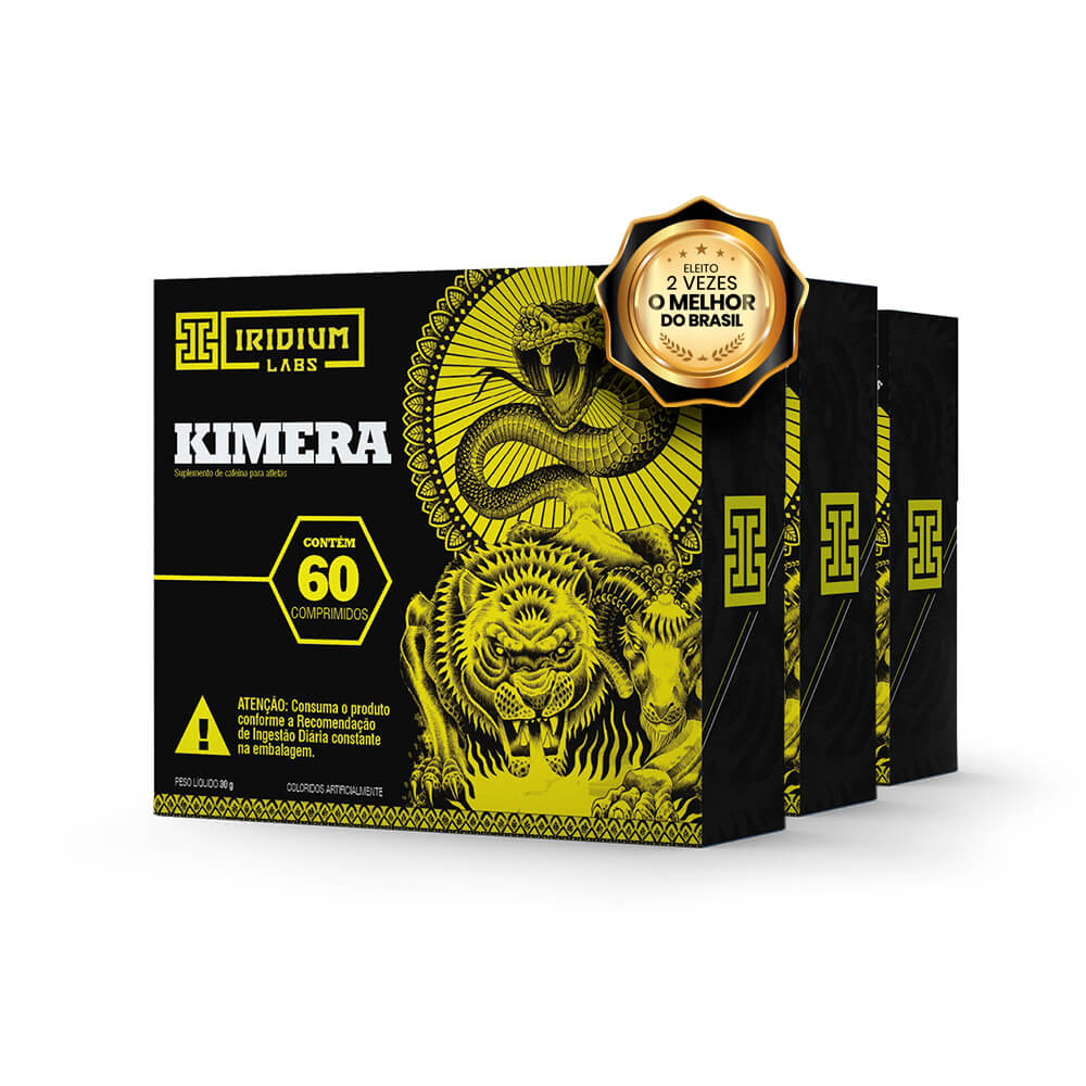 Kit Kimera Thermo - 3 caixas de 60 comps