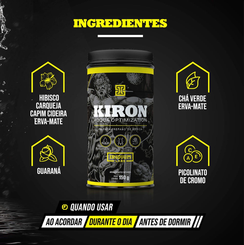 Kiron Acqua Optimization Chá Diurético - 150g