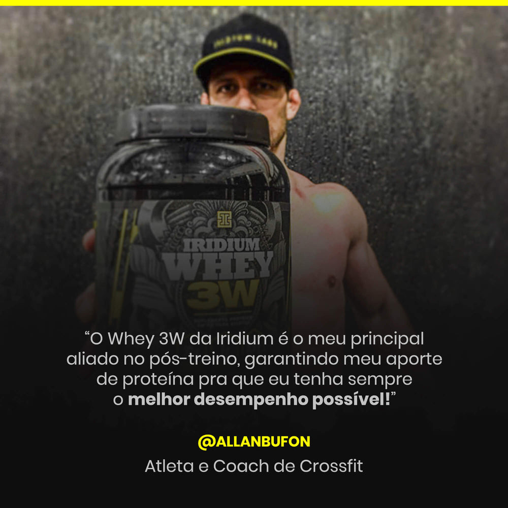 Iridium Whey 3W - 900g
