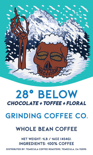28° Below - Cold Brew Coffee - Grinding Coffee Co.