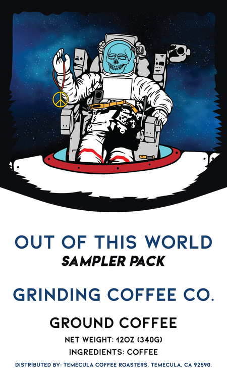 Out Of This World Sampler Pack - Grinding Coffee Co.
