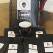 Flavored Coffees Samples: French Vanilla, Hazelnut, Cinnabun, Caramel, Mocha, Cinnamon Hazelnut - Grinding Coffee Co.