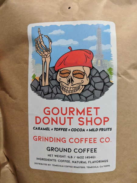 Gourmet Donut Shop - Grinding Coffee Co.