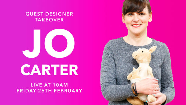 Natasha Makes - Guest Designer Takeover w Jo Carter 26th Febrauary 2021