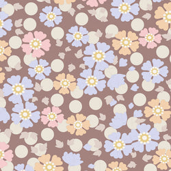Tilda 100190 Windflower Nutmeg Fabric | Natasha Makes