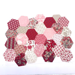 "1.5"" Pre-cut Hexagons for English Paper Piecing: Chafarcani Collection Precuts 