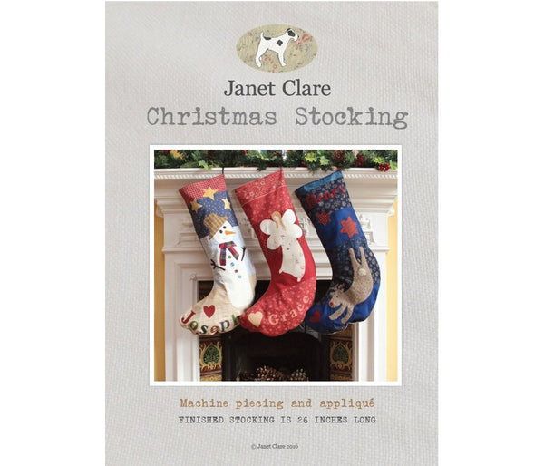 Janet Clare's Christmas Stocking Pattern