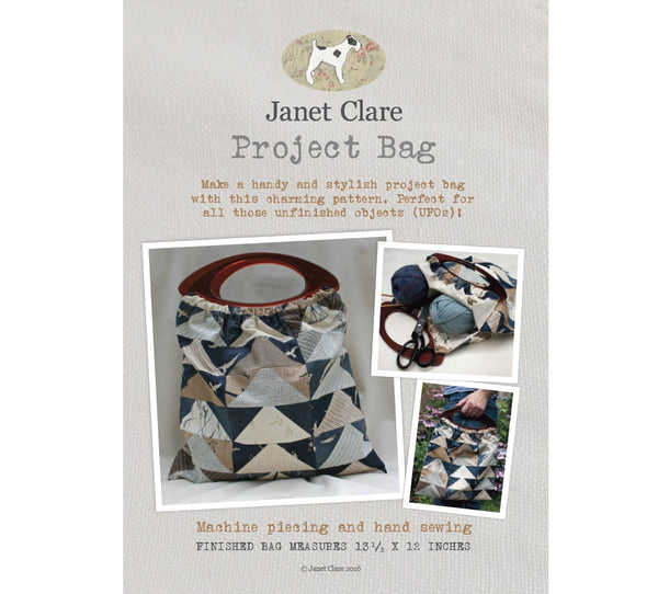 Janet Clare's Project Bag Pattern