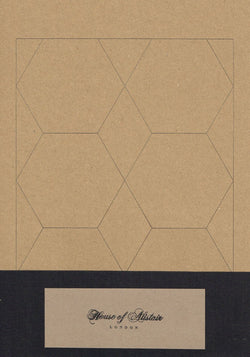 "House of Alistair - 3.5"" Full Hexagon Paper Piecing Pack Accessory 