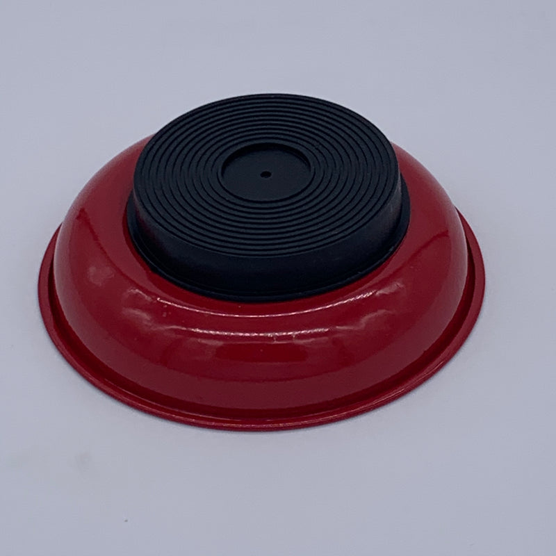 "4"" Magnetic Dish - Red"