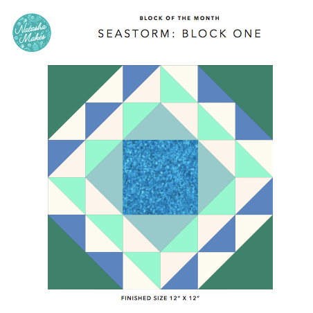 Seastorm Block of the Month - Block One Instructions