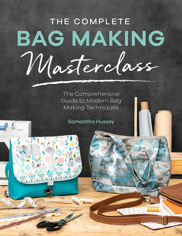 Mrs H - The Complete Bag Making Masterclass Books | Natasha Makes
