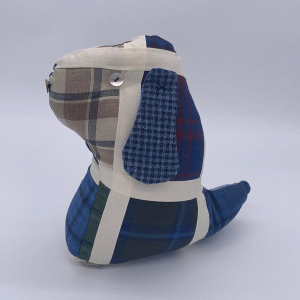 DOG 'ARTHUR' DOOR STOP SAVILE ROW KIT Kit | Natasha Makes