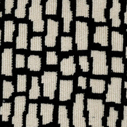 BLACK/CREAM PATTERN Upholstery Fabric | Natasha Makes