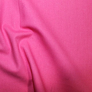 100% Cotton Plain: #31 Bright Pink: Cut to Order by the 1/2m