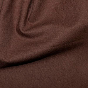 100% Cotton Plain: #12 Brunette: Cut to Order by the 1/2m