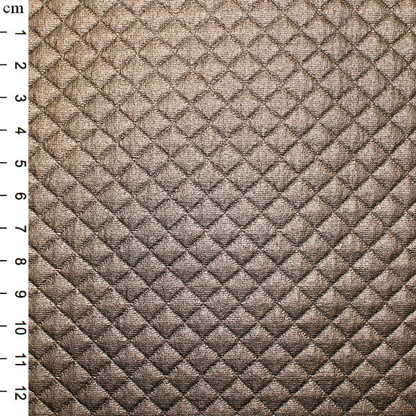 Quilted PU: Copper: Cut to Order by the 1/2m
