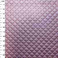 Quilted PU: Rose: Cut to Order by the 1/2m