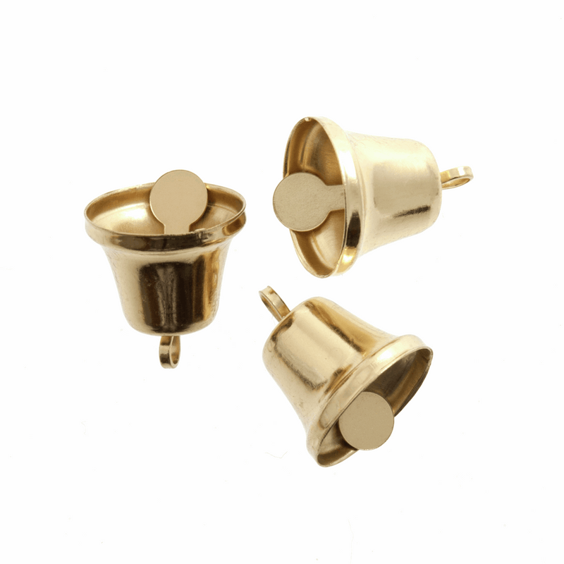 Liberty Bells: 14mm - Gold