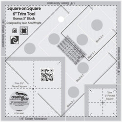 "CGRJAW7 Square on Square 3"" or 6"" Accessory 