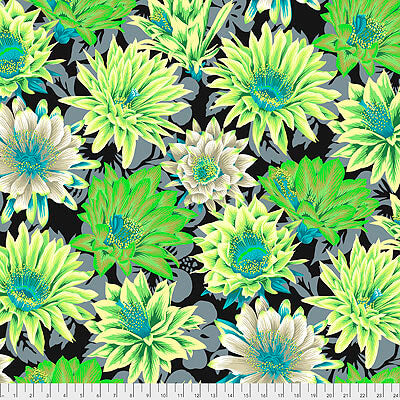 Kaffe Fassett Collective 2021: 'Cactus Flower' Contrast: Cut to Order by the 1/2m