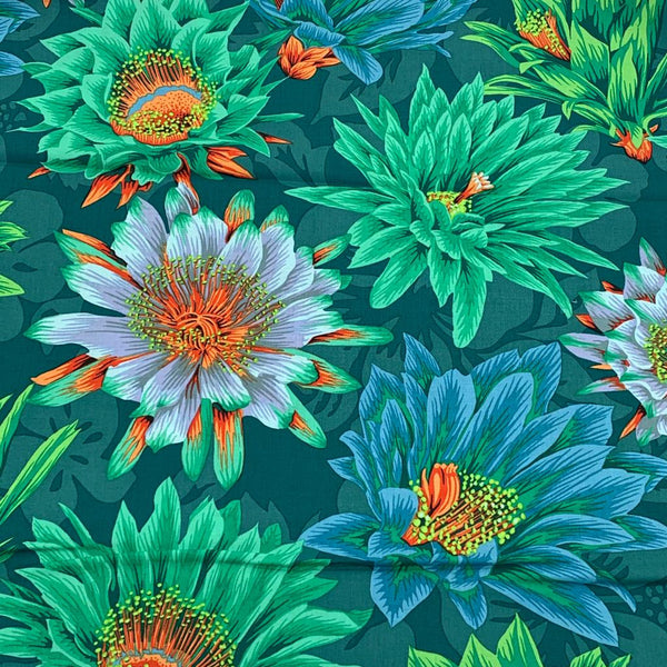 Kaffe Fassett Collective: Cactus Flower Green 1/2m