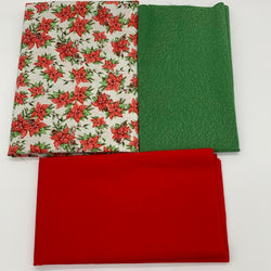 Catherine Wheel Mini Quilt Kit - Traditional  Christmas