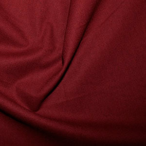 100% Cotton Plain: #34 Claret: Cut to Order by the 1/2m