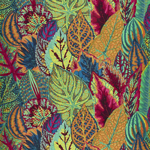 Kaffe Fassett Collective: 'Coleus' Moss: Cut to Order by the 1/2m