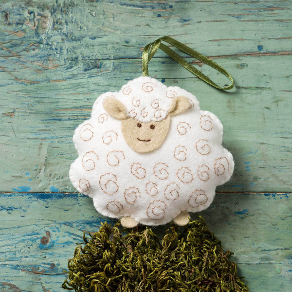 Corinne Lapierre Lamb Felt Craft Mini Kit Kit | Natasha Makes