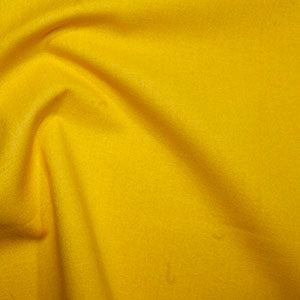 100% Cotton Plain: #16 Corn Yellow: Cut to Order by the 1/2m