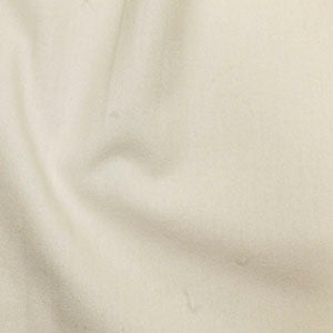 100% Cotton Plain: #3 Cream: Cut to Order by the 1/2m