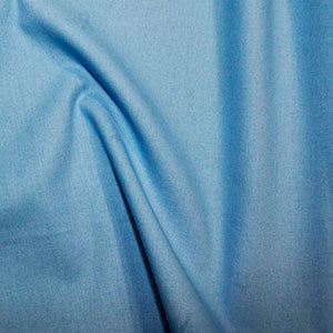 100% Cotton Plain: #45 Cyan: Cut to Order by the 1/2m