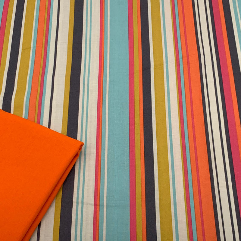 Half Metre Heaven - Dakarai Brights with Orange