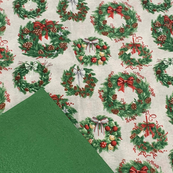 Half Metre Heaven - December Magic with Green Salt Batik