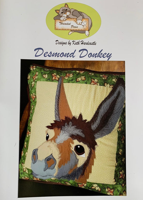 Kath Hardcastle 'Desmond Donkey' Instructions