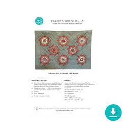 The Kaleidoscope Quilt: Digital Instructions