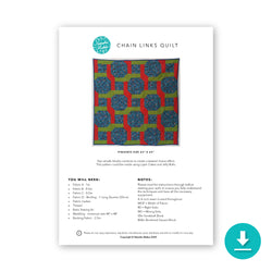 Chain Links Quilt - Digital Instructions