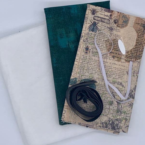 Quilted Tablet Pouch Kit - Tim Holtz Entomology Kit | Natasha Makes